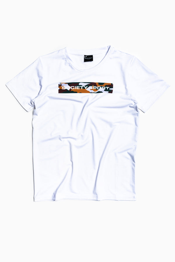 SOCIETY SPORT CAMO BOX T-SHIRT