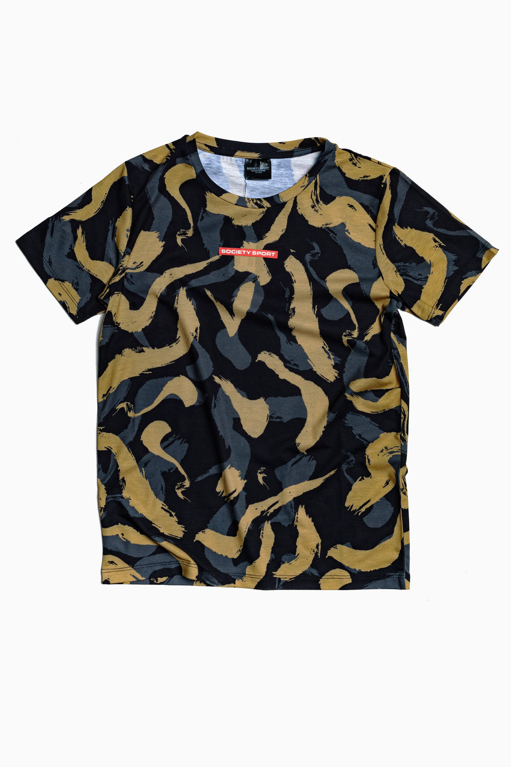 SOCIETY SPORT BRUSH STROKE T-SHIRT