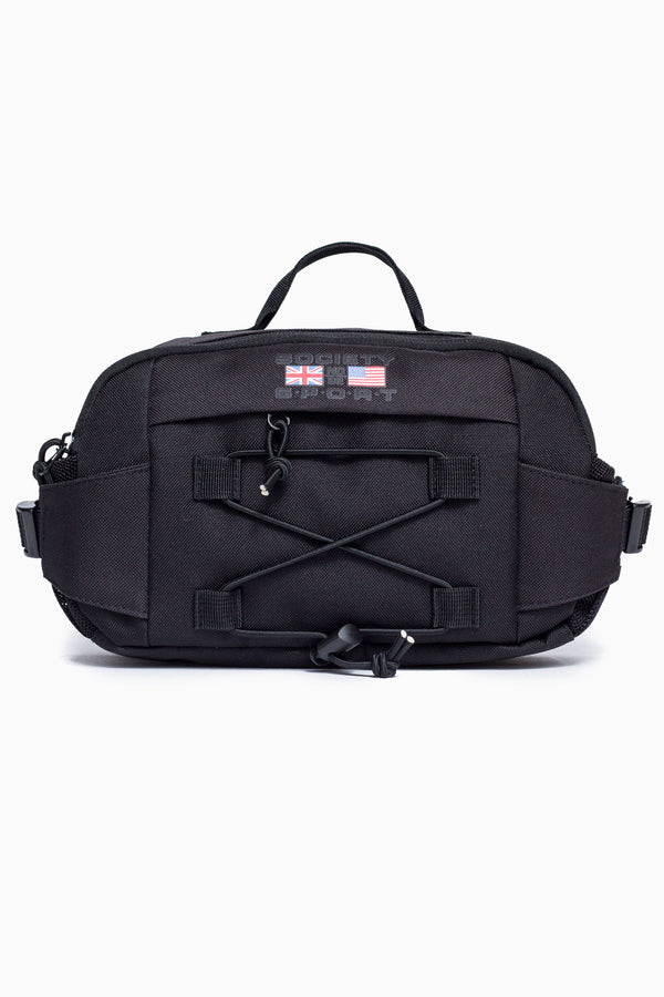 SOCIETY SPORT BLACK FLAG CROSS BODY BAG