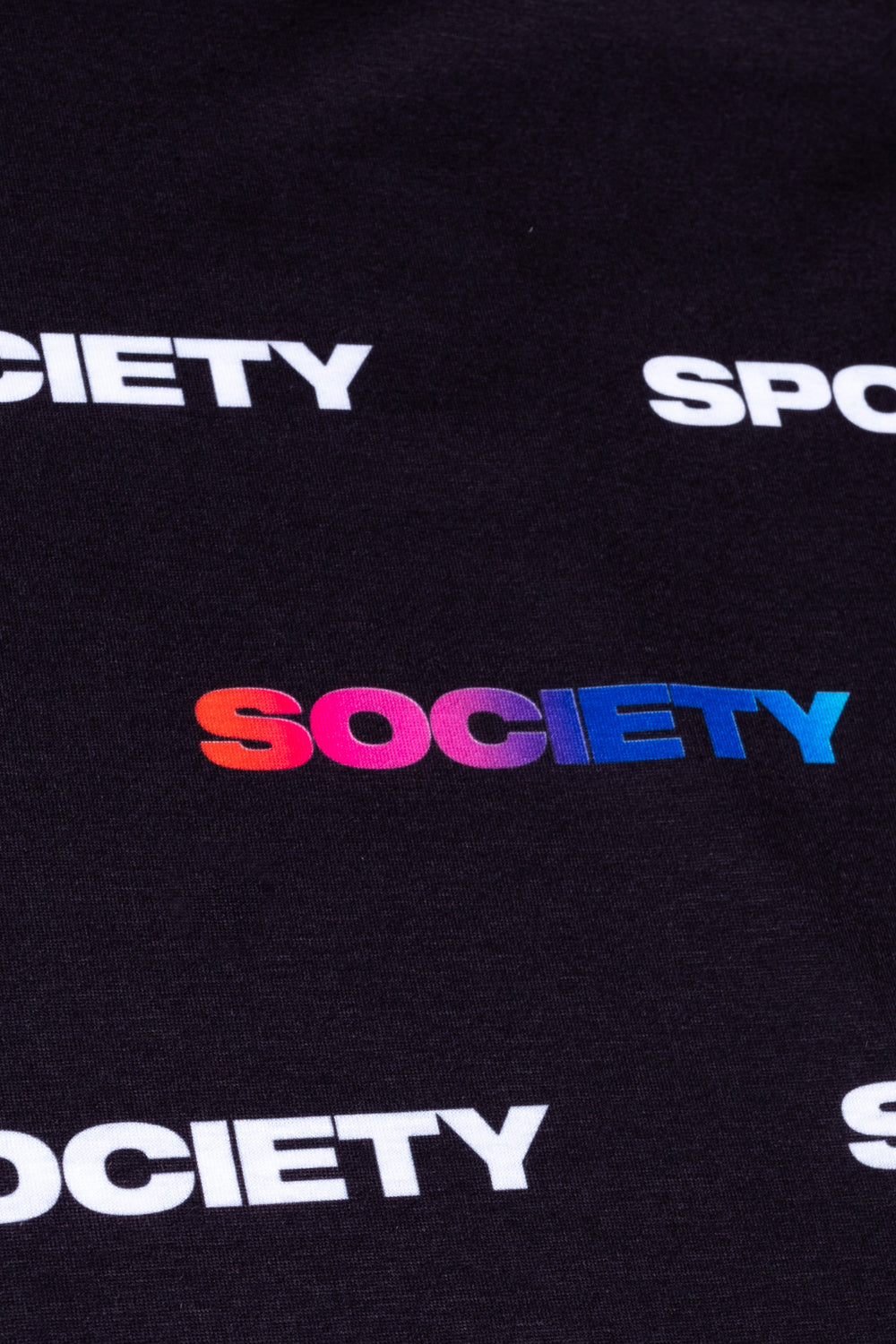 SOCIETY SPORT RUNNING RAINBOW LOGO MEN'S T-SHIRT