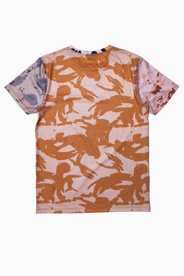 SOCIETY SPORT MULTI CAMO MEN'S T-SHIRT