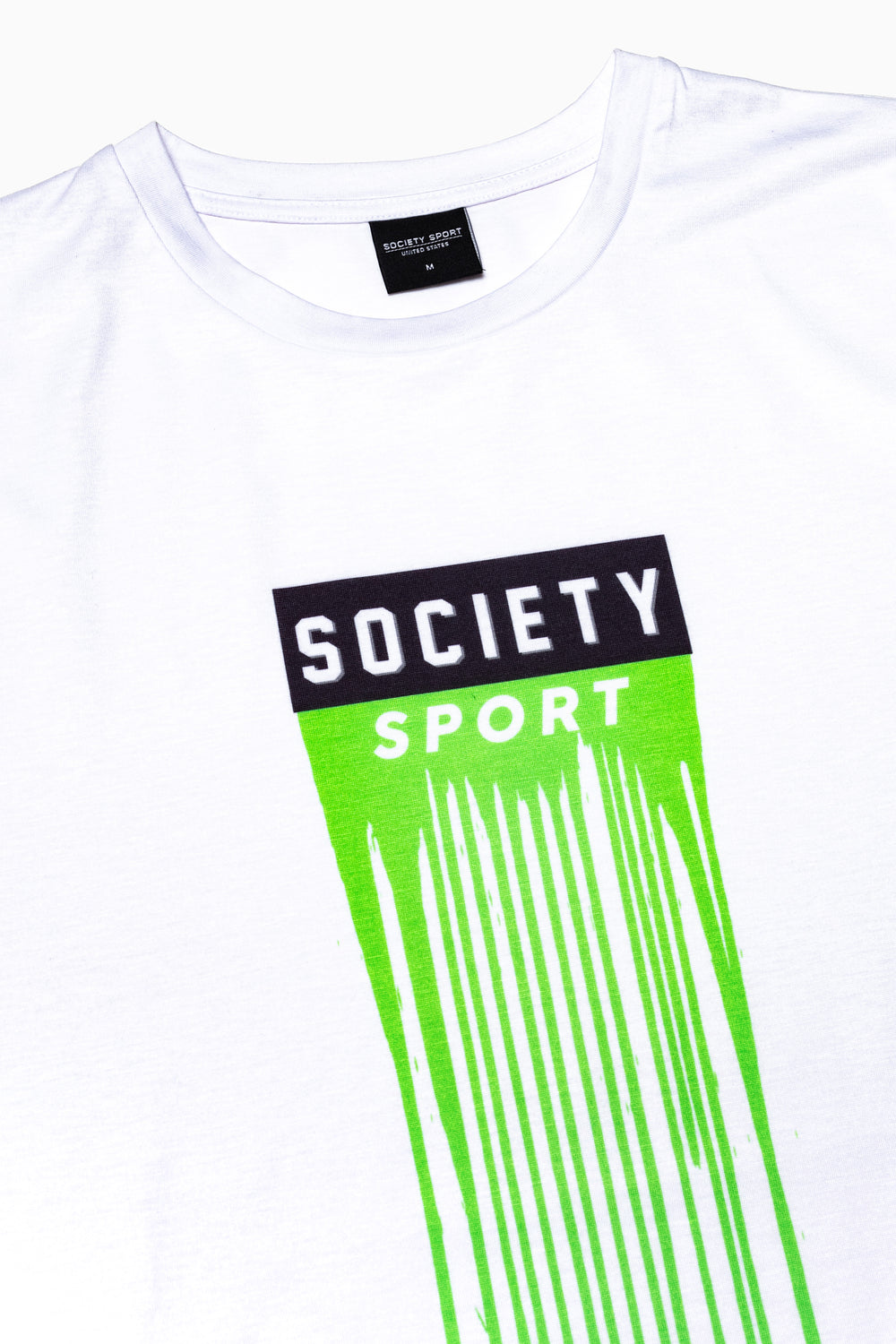 SOCIETY SPORT LOGO DRIPS MEN'S T-SHIRT
