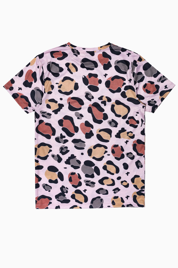 SOCIETY SPORT SAND LEOPARD MEN'S T-SHIRT