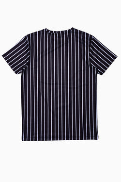 SOCIETY SPORT JERSEY STRIPES MEN'S T-SHIRT