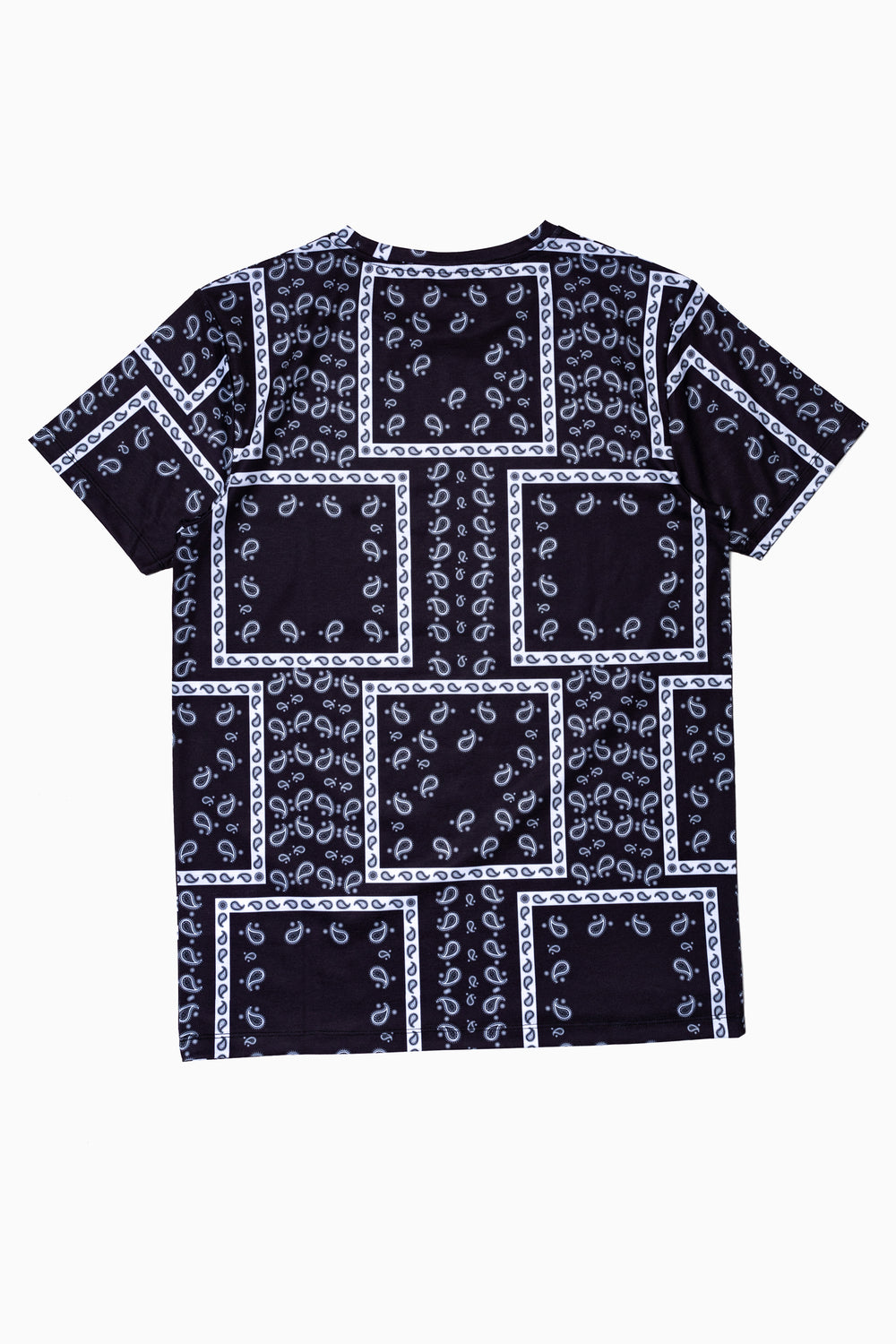 SOCIETY SPORT BLACK BANDANA MEN'S T-SHIRT