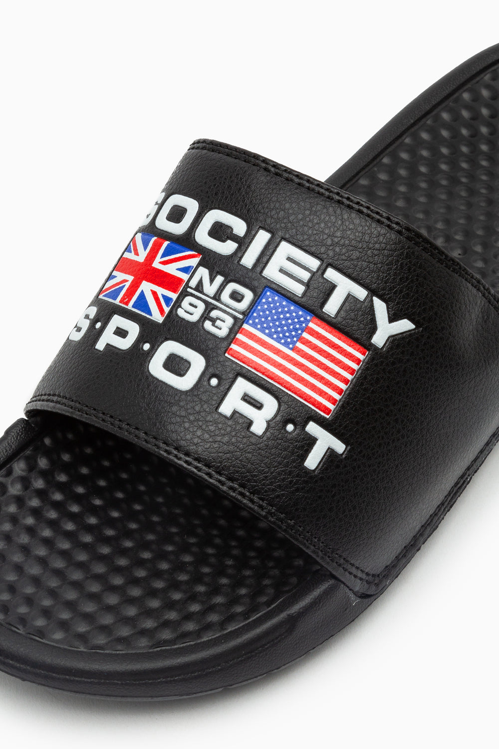 SOCIETY SPORT BLACK SLIDER