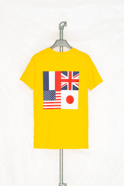 SOCIETY SPORT YELLOW FLAGS 93 T-SHIRT