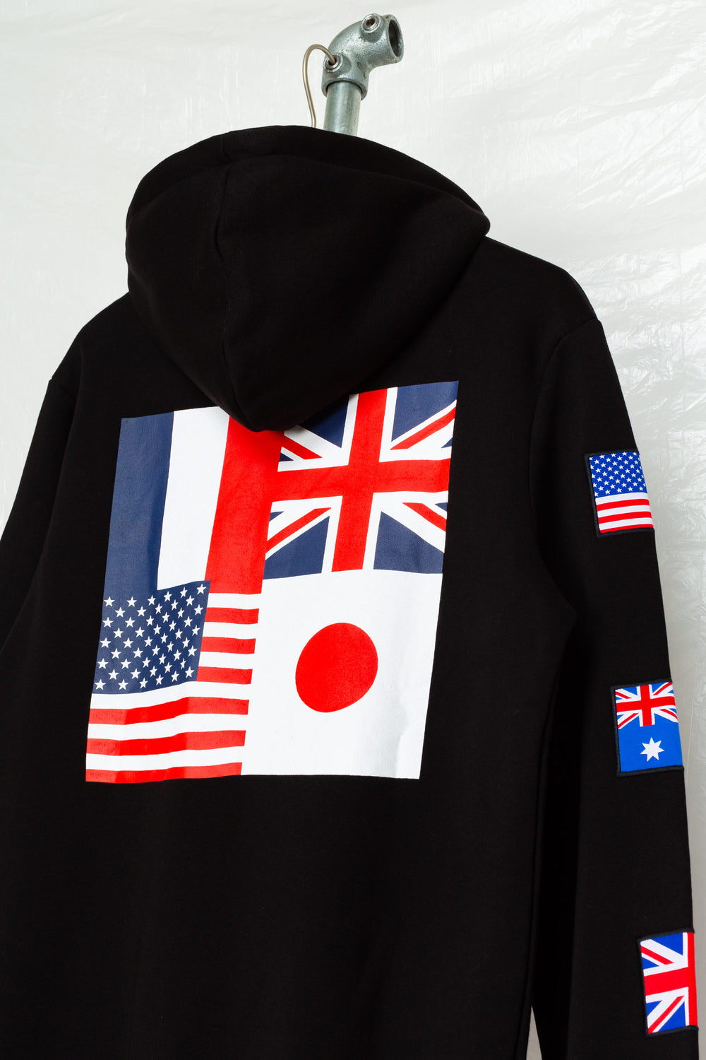 SOCIETY SPORT FLAGS 93 BLACK PULLOVER