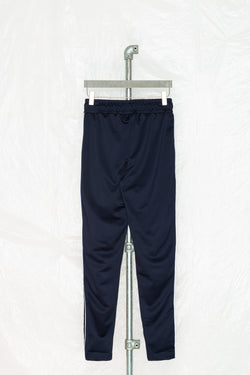 SOCIETY SPORT NAVY TAPED POLY PANTS
