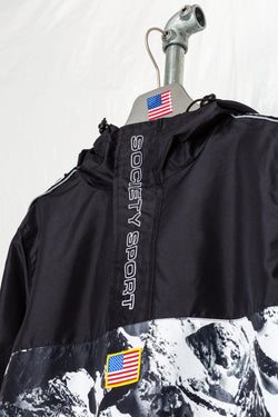 SOCIETY SPORT ALPINE 1/4 ZIP WINDBREAKER
