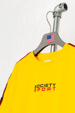 SOCIETY SPORT MANGO TAPED T-SHIRT