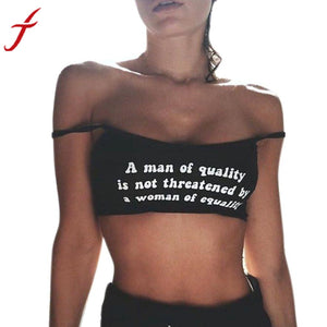 Quality = Equality Crop Top