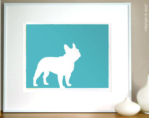 Mod-Dog — Mod French Bulldog Print :  frenchie french bulldog print mod