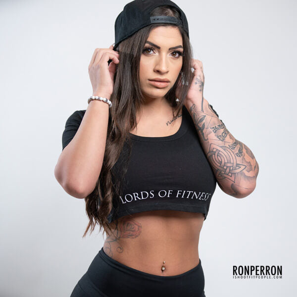 Lords Of Fitness Black SnapBack Hat