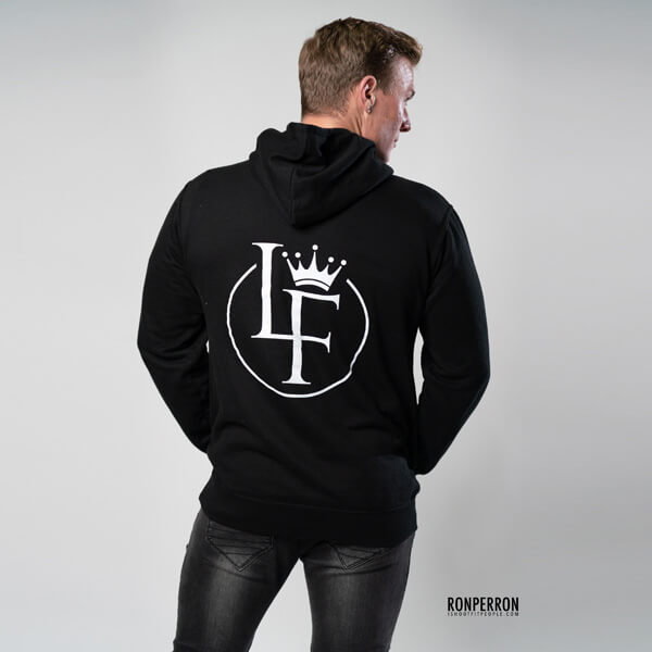 Lords Of Fitness Unisex Classic Pullover Hoodie Black