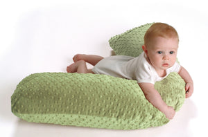 Luna Lullaby Nursing Pillow Cover - Sage Dot