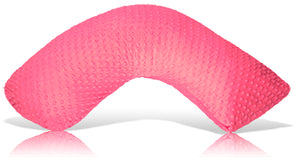 Luna Lullaby Nursing Pillow - Fuchsia Dot