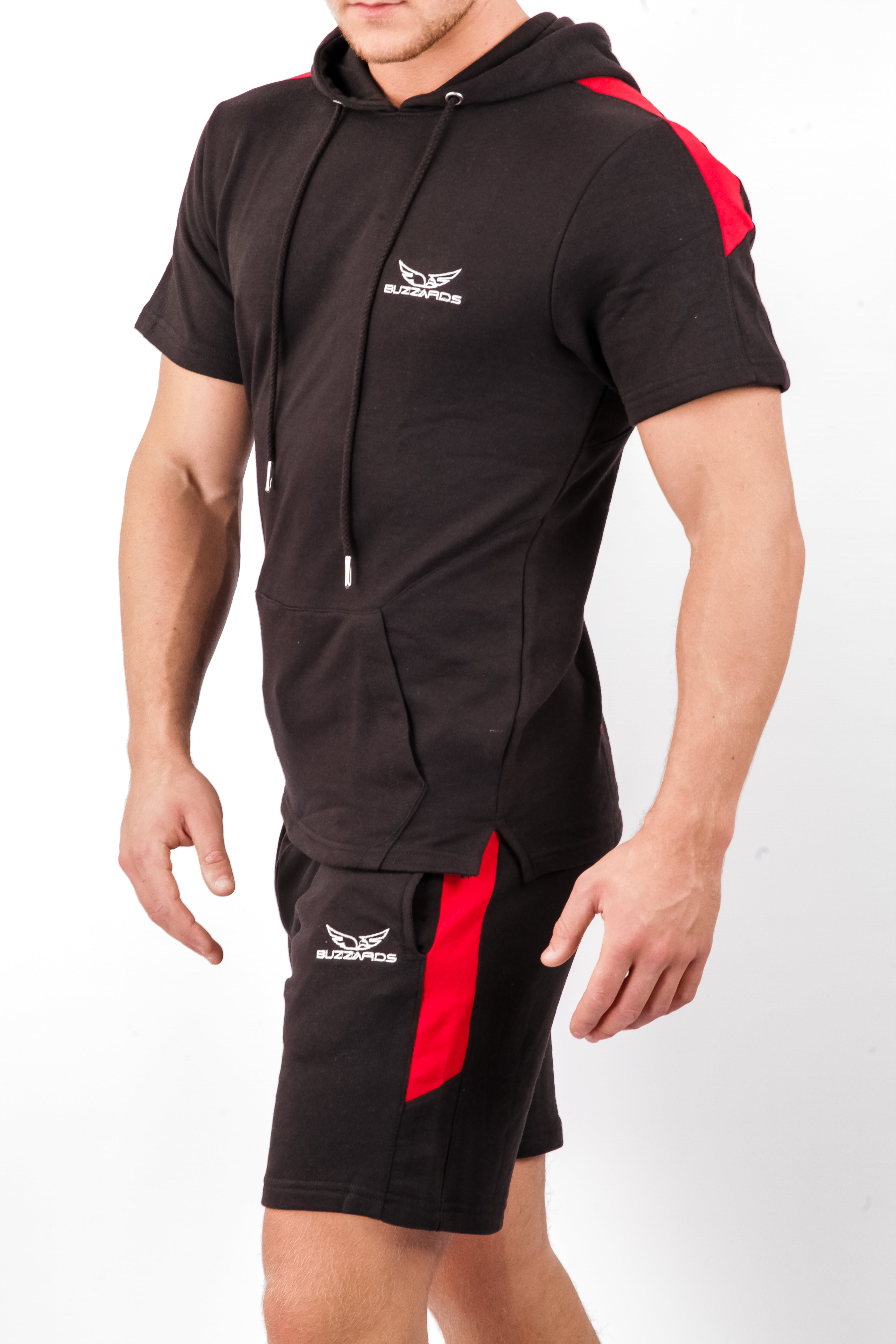 Elate Short Sleeve Hoodies (Free Contrasting Shorts worth £19.99)