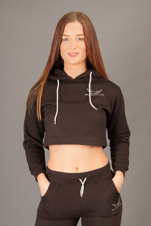 The Inception Crop Hoodies