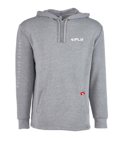 RED LABEL- HOODIE- Grey
