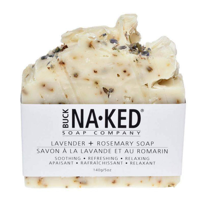 Buck Naked - Lavender & Rosemary Soap | Good Soul Shop