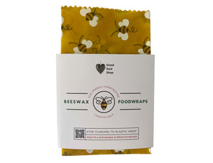 Reusable Beeswax Food Wrap - 8 inch - Good Soul Shop