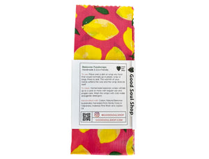 Beeswax Wrap Set of 3 - When Life Hands You Lemons - Good Soul Shop