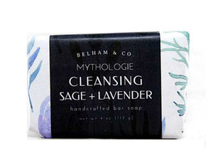 Cleansing Sage & Lavender Soap - Good Soul Shop
