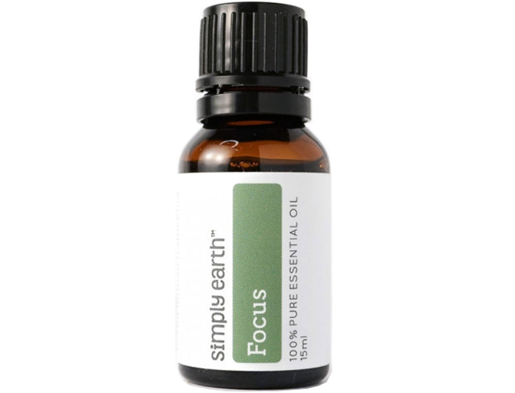 Simply Earth - Focus Essential Oil Blend - Good Soul Shop
