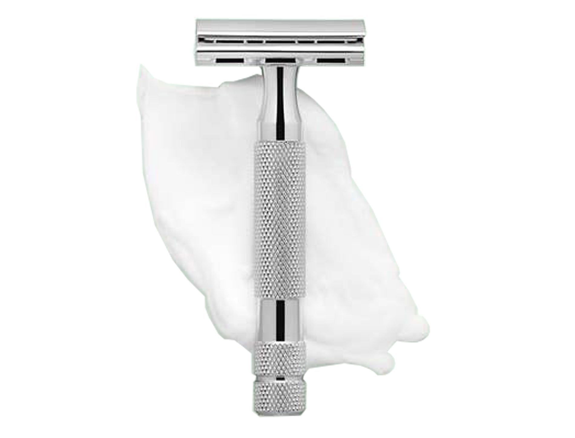 White Chrome Adjustable Safety Razor - Good Soul Shop