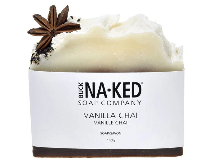 Buck Naked - Vanilla Chai Soap | Good Soul Shop