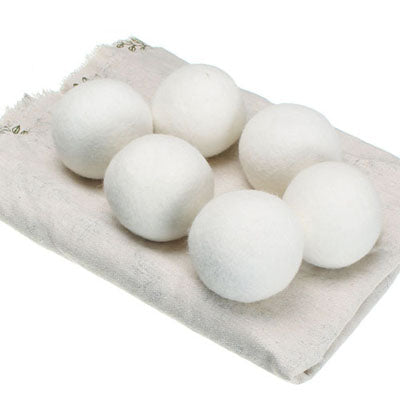 Wool Dryer Balls - Set of 6 - Good Soul Shop