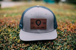 ROAR Leather Patch Trucker