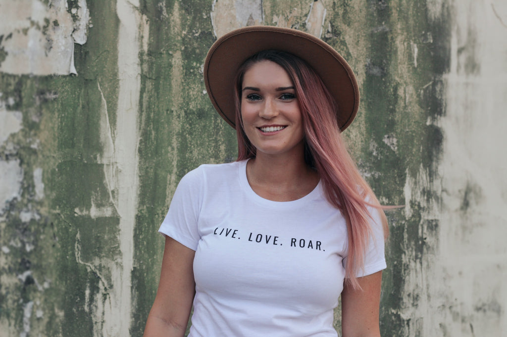 LIVE ~ LOVE ~ ROAR - Women's T-Shirt