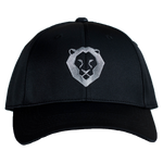 ROAR GOLF HAT - BLACK/GRAY