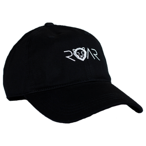 ROAR DAD HAT - BLACK/WHITE