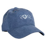 ROAR DAD HAT - BLUE/WHITE