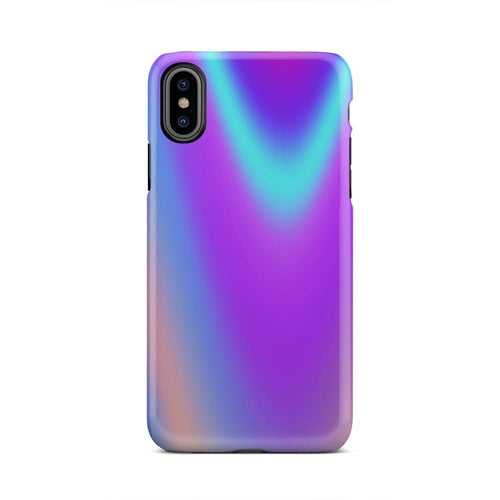 Unique Color Wave Multicolored Phone Case for iPhone and Samsung - GeekSoul