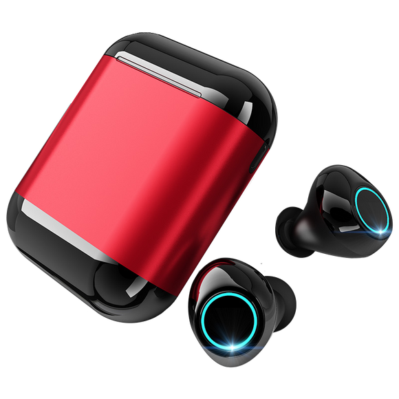 S7 Bluetooth Earbuds with Mic and Charging Box - GeekSoul