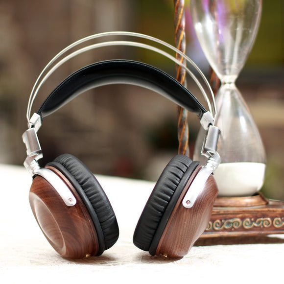 DIY 50mm Wood HIFI Headphones - GeekSoul