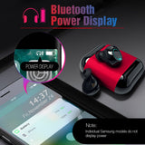 S7 TWS Bluetooth Earbuds with Mic and Charging Box - GeekSoul