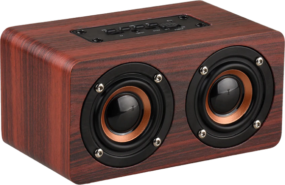TOPROAD HIFI Wood Portable Bluetooth Speaker - GeekSoul