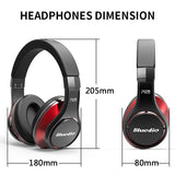 Bluedio U(UFO) High-End Bluetooth headphone 8 Drivers 3D HiFi Sound/ Aluminum alloy - GeekSoul