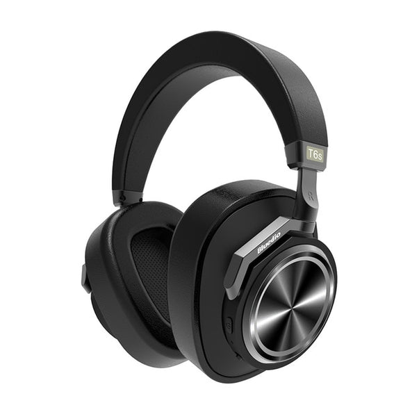 Bluedio T6S Bluetooth Headphones Active Noise Cancelling Voice Control - GeekSoul