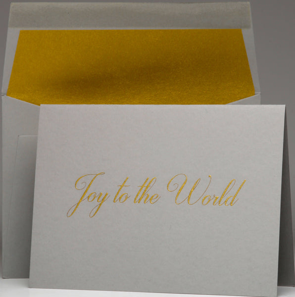 Joy to the World Boxed S/8