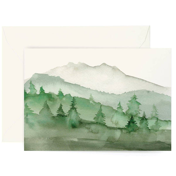 Green Mountains Card Box S/8