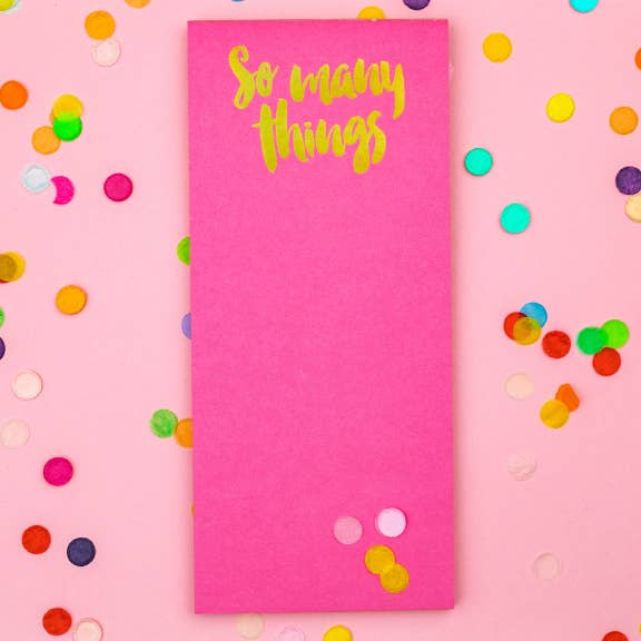 So Many Things Skinny List Pad with magnet