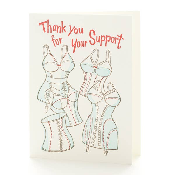 Bustiers and Corsets Card