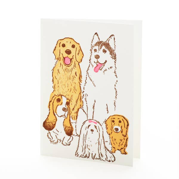 Dogs Notecard