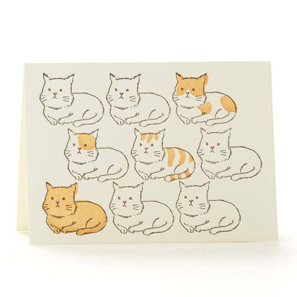 Cats Notecard